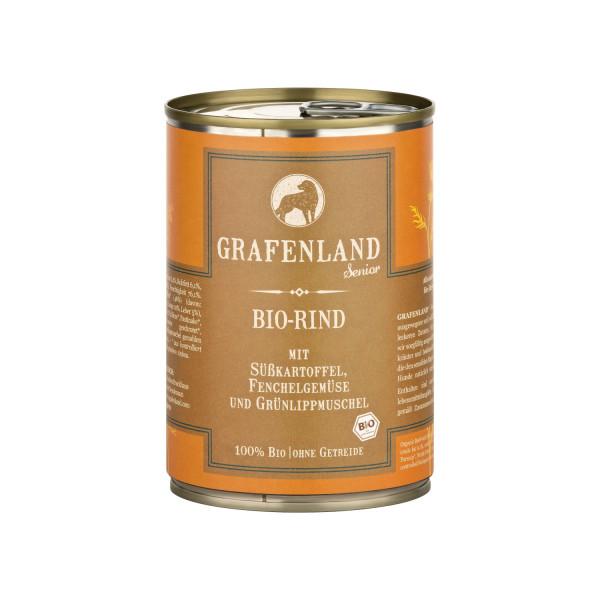 Grafenland Senior Bio Rind mit Süßkartoffel