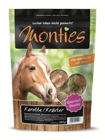 Monties Pferde Snack - Karotte & Käuter