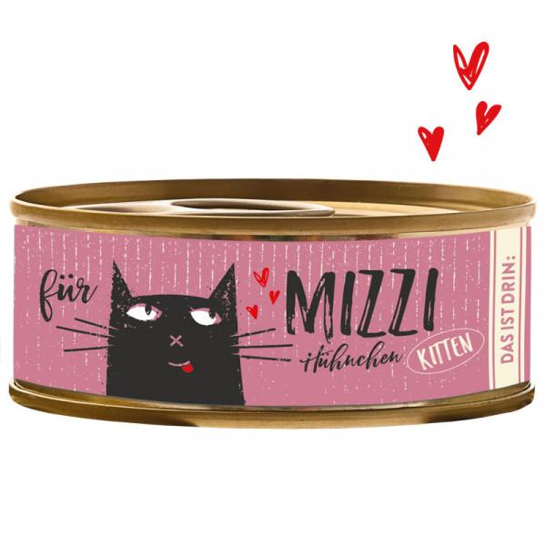 Bubeck Mizzi Hühnchen 100g für Kitten