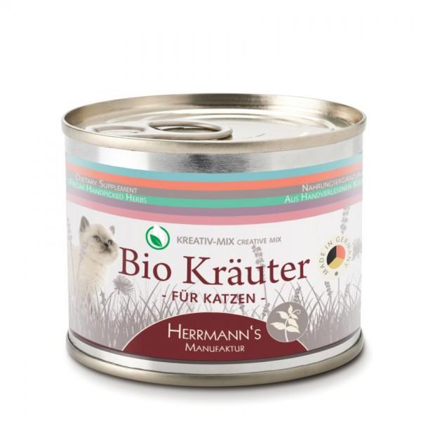 Herrmanns Selection Kreativ Mix Bio Kräuter Katze 75g MHD