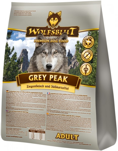 Wolfsblut Hunderfutter Grey Peak