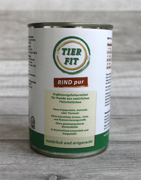 TierFit Reinfleischdose Rind pur