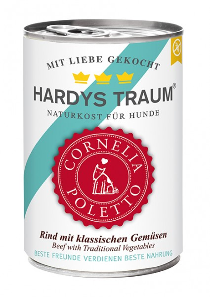 Hardys Traum Cornelia Poletto Edition Rind mit klassischen Gemüsen 400g Dose