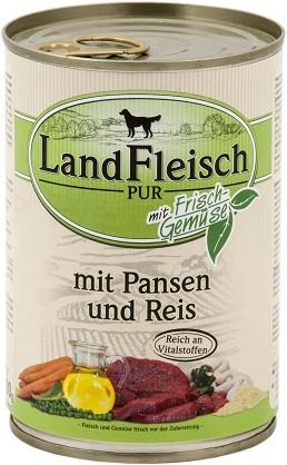 Landfleisch Pur Pansen & Reis