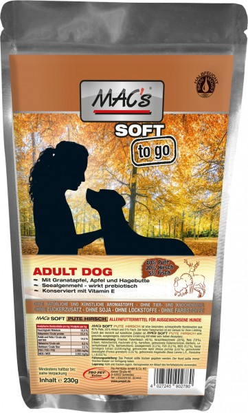 Macs Soft Pute & Hirsch to go 230g