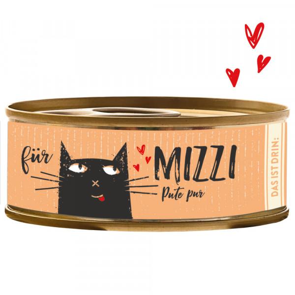 Bubeck Mizzi Pute pur 100g Katzenfutter