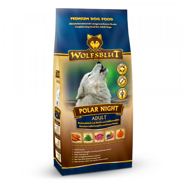 Wolfsblut Polar Night mit Rentierfleisch und Kürbis