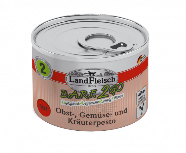 Landfleisch Wolf Pesto Rot 200g