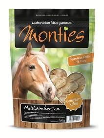 Monties Pferde Snack Maiskeimherzen