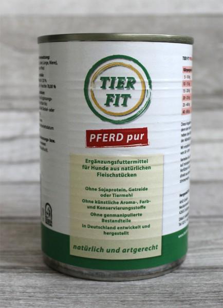 TierFit Reinfleischdose Pferd pur
