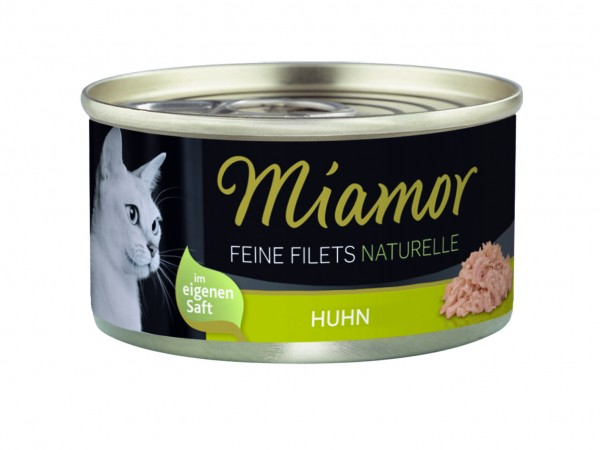 Miamor Feine Filets Naturelle Huhn pur 80g