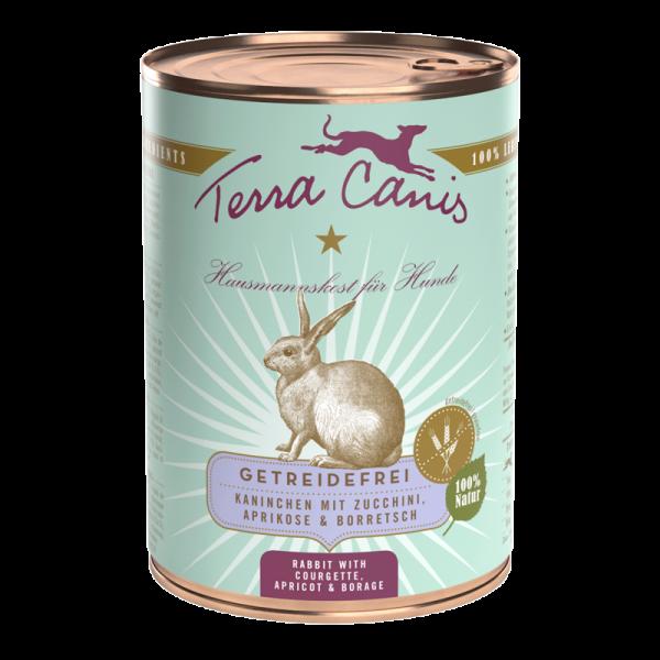 Terra Canis Kaninchen mit Zucchini getreidefreies Menü