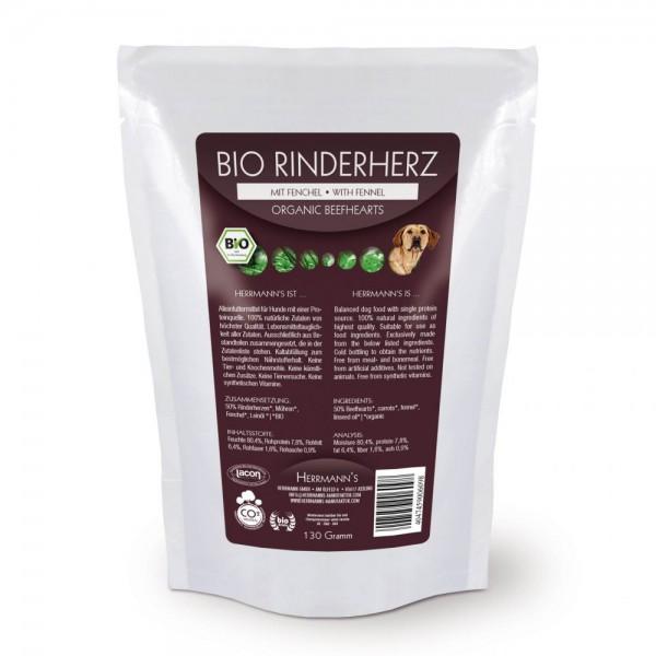 Herrmanns Bio Rinderherz mit Fenchel 130g