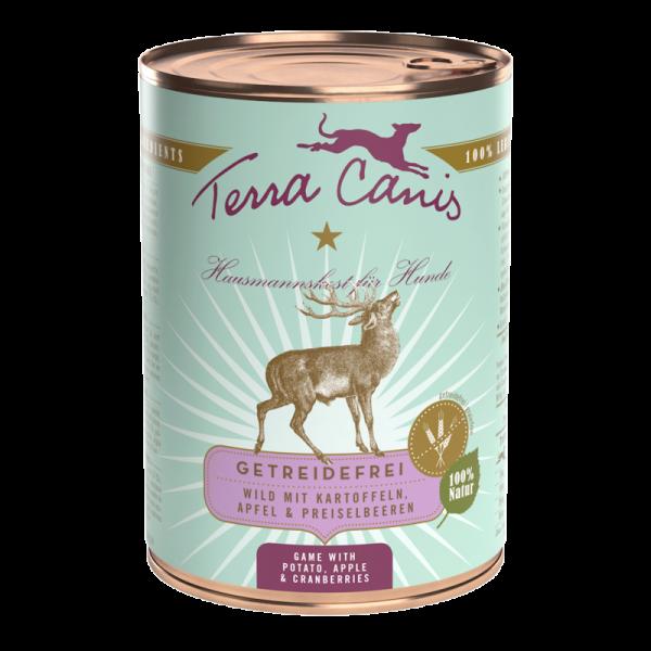 Terra Canis Wild mit Kartoffeln getreidefreies Menü