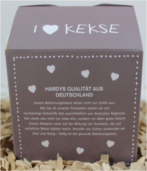 Hardys Traum Belohnungskekse Huhn & Karotte Mini-Herz 225g