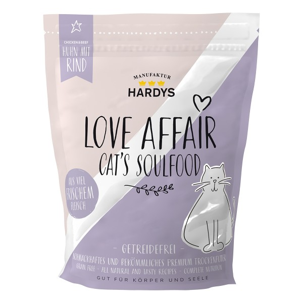 Hardys Traum Love Affair Soulfood Huhn & Rind 375g