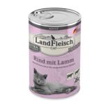 Landfleisch Cat Adult Pastete Rind mit Lamm 400g