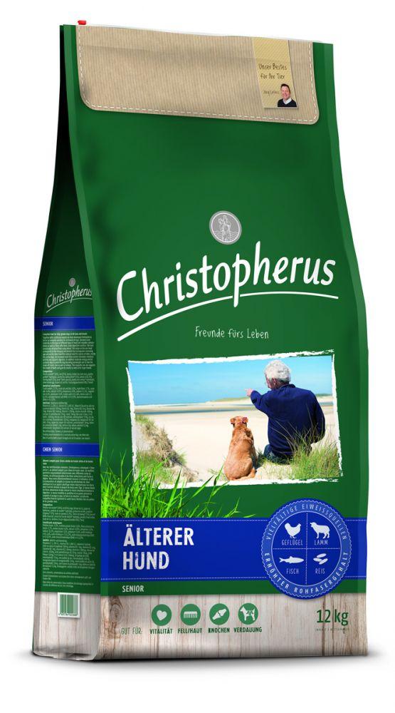 christopherus hundefutter f r den lteren hund preiswert online bestellen futtershop24. Black Bedroom Furniture Sets. Home Design Ideas