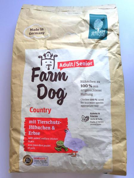 Green Petfood FarmDog Country Adult/Senior 10kg