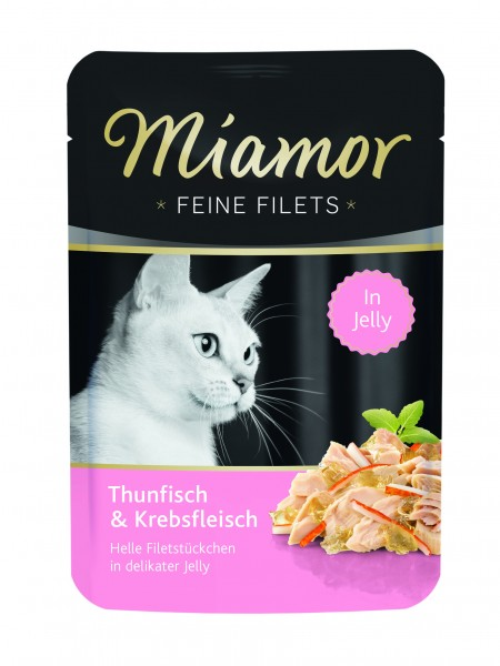 Miamor Feine Filet Thunfisch & Krebs in Jelly 100g