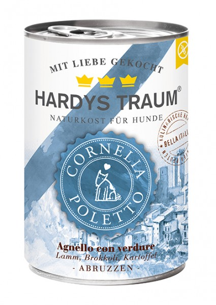 Hardys Traum Cornelia Poletto Edition Lamm, Brokkoli und Kartoffeln 400g Dose