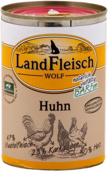 Landfleisch Wolf Huhn 400g