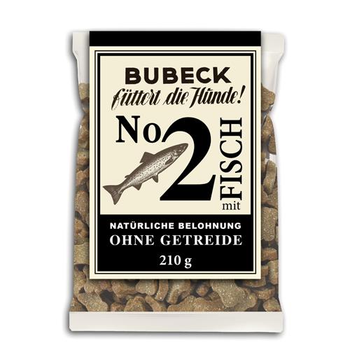 Bubeck getreidefreie Belohung Nr. 2 mit Fisch 210g