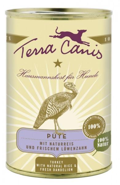 Terra Canis Pute mit Naturreis & frischem Löwenzahn