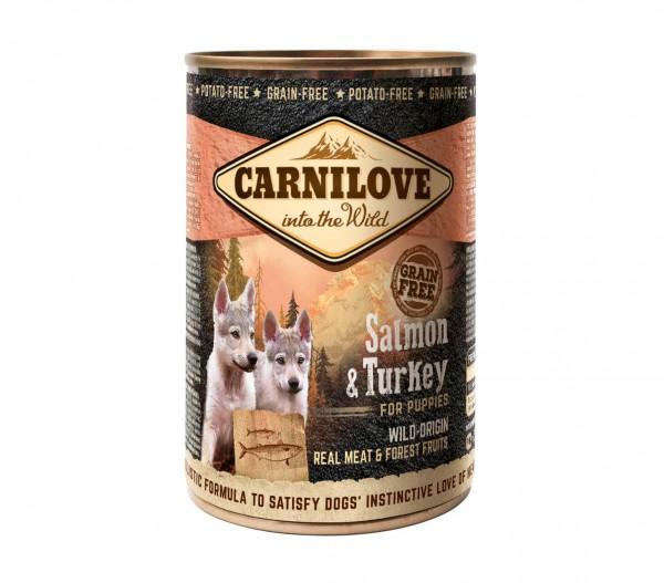Carnilove Puppy Salmon & Turkey 400g Dose