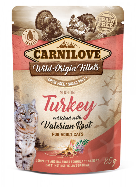 Carnilove Cat Pouch Trout with Echinacea 85g