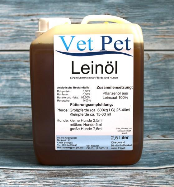 Leinöl für Pferde günstig online bestellen von Vet Pet