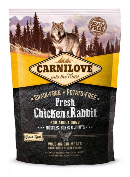 Carnilove Fresh Chicken & Rabbit Adult