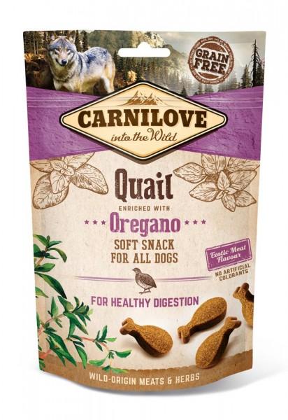 Carnilove Soft Snack Wachtel & Oregano 200g