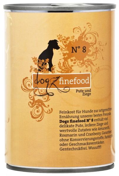 Dogz finefood No. 8 Pute & Ziege