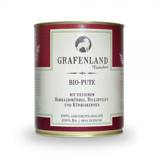 Grafenland Variation Bio Pute mit Grafenland Variation Bio Pute mit frischem Hokkaidokürbis, Dillsam