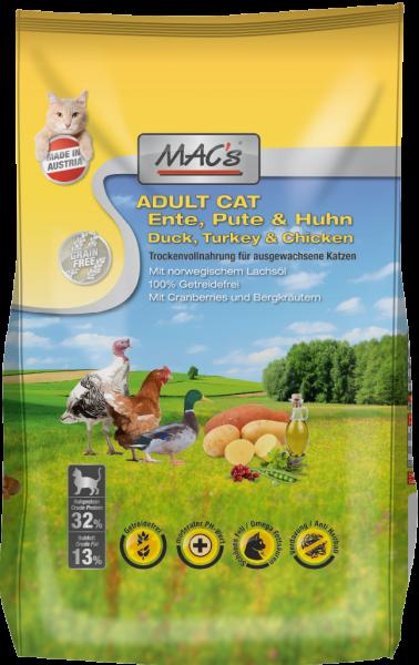 Macs Cat Ente, Pute & Huhn Adult 300g