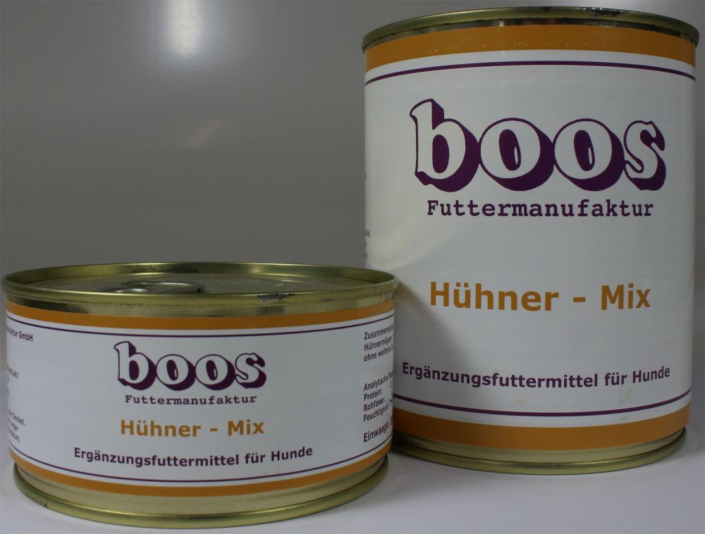 boos h hner mix 300g hundefutter futtershop24. Black Bedroom Furniture Sets. Home Design Ideas