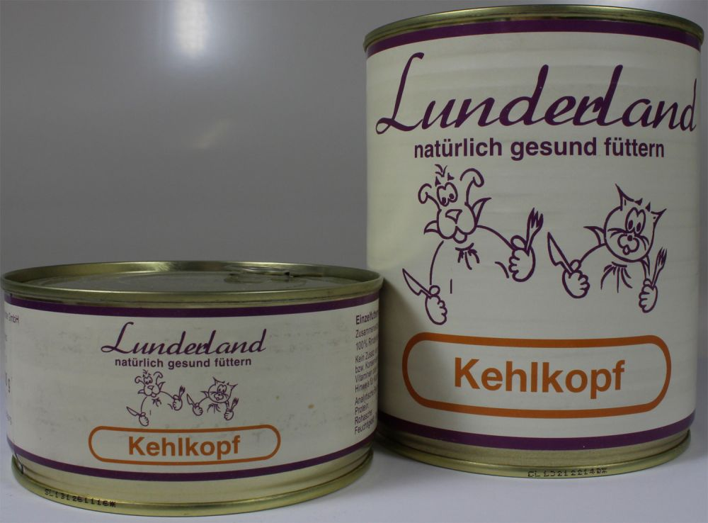 lunderland kehlkopf 300g fleischdose bei futtershop24 hundefutter und. Black Bedroom Furniture Sets. Home Design Ideas