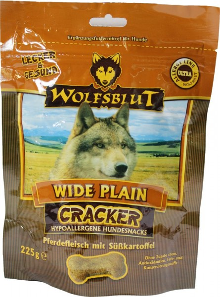 wolfsblut wide plain cracker snacks hund futtershop24 hundefutter und katzenfutter g nstig. Black Bedroom Furniture Sets. Home Design Ideas