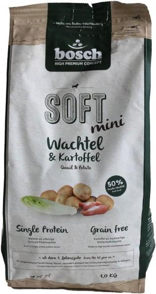 Bosch HPC Soft Mini Wachtel 1kg MHD: 18.01.2021