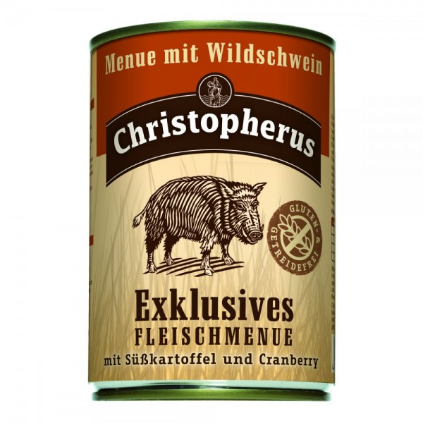 Christopherus Menü mit Wildschwein