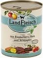 Landfleisch Pur Rinderherz, Reis und Wildapfel