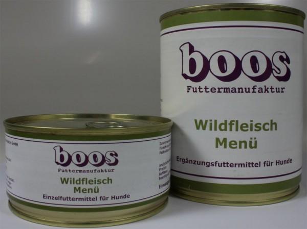 Boos Wildfleisch Menü 300g MHD: 31.05.18
