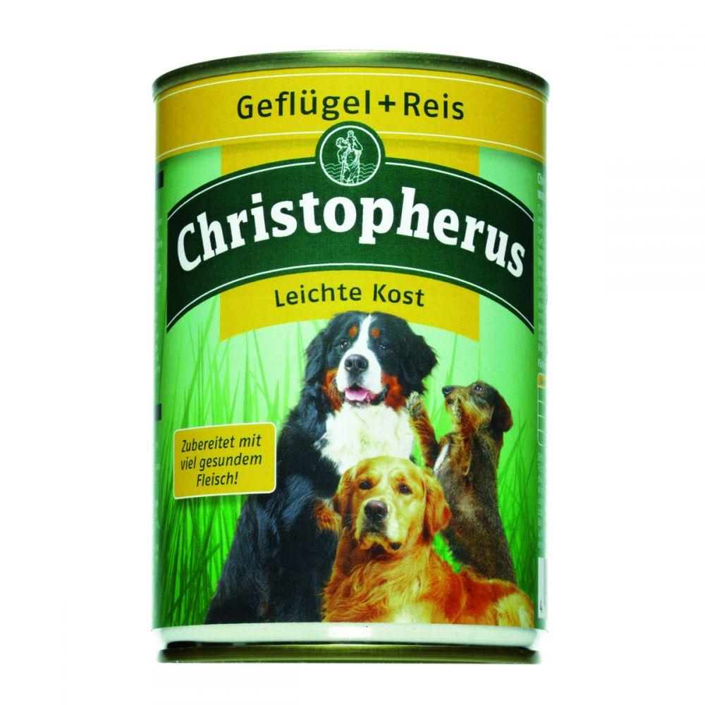 christopherus leichte kost christopherus hundefutter zz hundefutter nass futtershop24. Black Bedroom Furniture Sets. Home Design Ideas