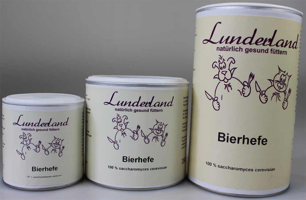 lunderland bierhefe 100g futtershop24 hundefutter und katzenfutter g nstig online kaufen im shop. Black Bedroom Furniture Sets. Home Design Ideas