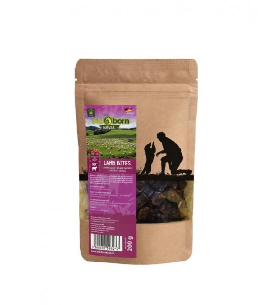 Wildborn Natural Lamb Bites Hundesnack 200g