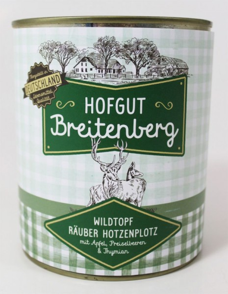 Hofgut Breitenberg Wildtopf Räuber Hotzenplotz
