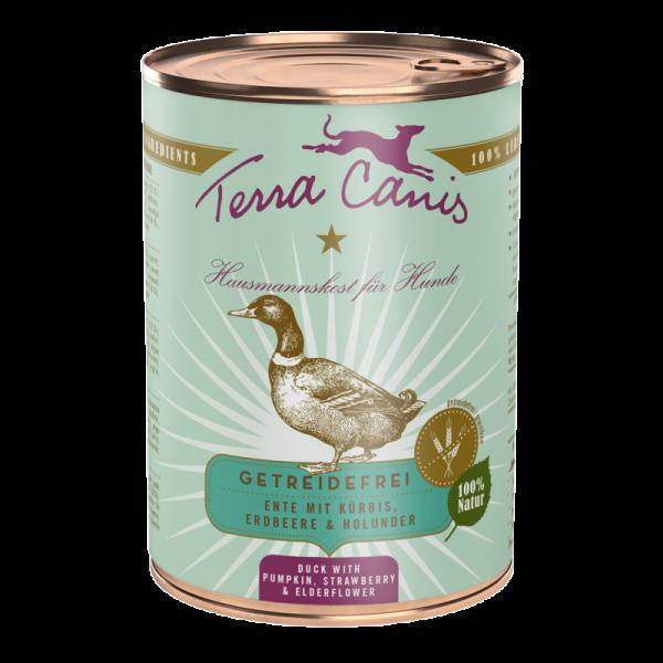 Terra Canis Ente mit Kürbis getreidefreies Menü