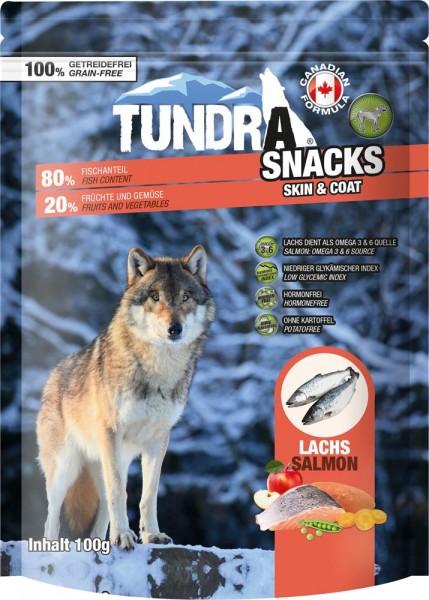 Tundra Dog Snack Skin & Coat Lachs 100g