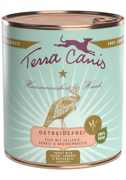 Terra Canis Sensitiv Pute mit Sellerie, Kürbis & Brunnenkresse